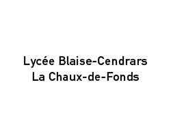 logo du Lycée Blaise-Cendrars, La Chaux-de-Fonds